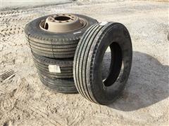 Bridgestone 215/75R17.5 Mounted Tires