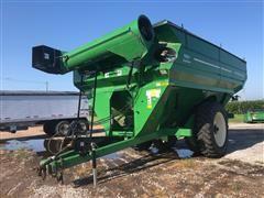 2011 J&M 1051-22D Grain Cart W/Scale