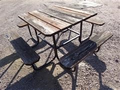 4'X4' Picnic Table