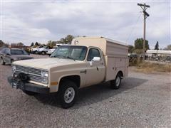 1984 Chevrolet Custom Deluxe 20 Pickup