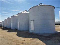 5 Grain Bins