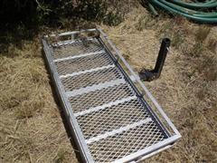 4'X2' Receiver Mount Storage Rack