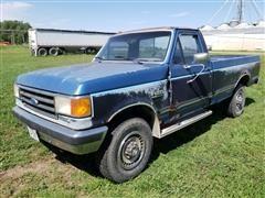 1989 Ford F250 XLT Lariat 4x4 Diesel Pickup