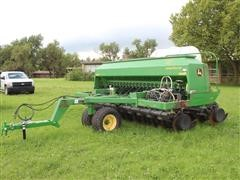 John Deere 1590 No-Till Grain Drill W/Liquid Fertilizer System