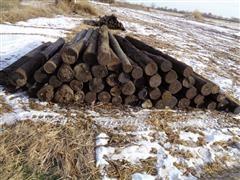 Wood Corner Post