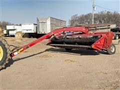 Case IH 8370 Windrower