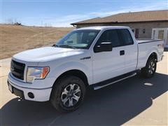 2013 Ford F150 STX 4x4 Extended Cab Pickup