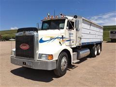 1995 Peterbilt 377 T/A Grain Truck