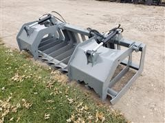 "2019 Hawz 84"" Wide Root Grapple Skid Steer Attachment"