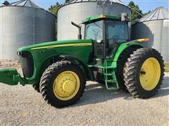 2002 John Deere 8320 MFWD Tractor