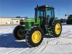 1999 John Deere 7410 MFWD Utility Tractor