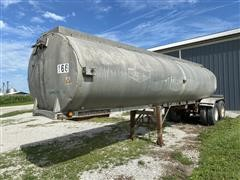1962 Trailmobile T8-56-19 T/A Tanker Trailer
