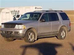 2002 Ford Explorer XLT 4 Door SUV