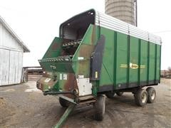 Badger Forage Wagon