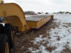 1970 Talbert Lowboy Triple Axle Trailer