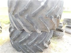 Tire Feed Bunks/Water Tanks