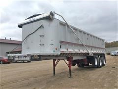 1992 Benson End-Dump Tri/A Trailer