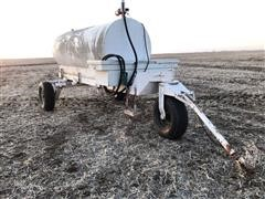 3 Wheeled 1,000-Gal Fuel Trailer With Pump