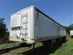 1991 Wilson T/A Hopper Bottom Grain Trailer