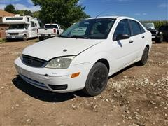 2006 Ford Focus ZX4 Sedan Car