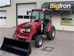2016 Mahindra 1538HX 4WD Compact Utility Tractor W/Loader