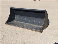 """Case IH 69"""" Wide Loader Bucket"""