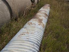 2' X 20' Corrugated Metal Pipe