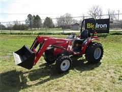 2016 Mahindra 15264FHIL MFWA Compact Utility Tractor W/Loader