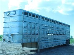 1979 Chamberlin JADCL-7805 T/A Double-Decker Cattle Trailer
