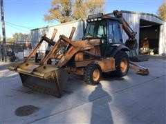 2000 Case IH 580 Super L 4WD Loader Backhoe