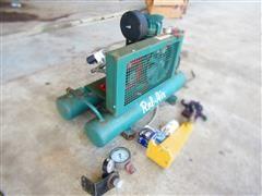 Rol-Air Air Compressor W/Hydraulic Drive