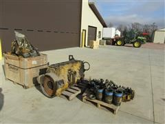 Caterpillar 3406B Disassembled Diesel Engine