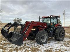 2015 Case IH Puma 185 MFWD Tractor W/Loader