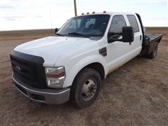 2008 Ford F350 Crew Cab Flatbed Pickup