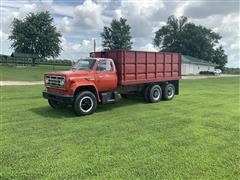 1974 GMC 6000 T/A Grain Truck
