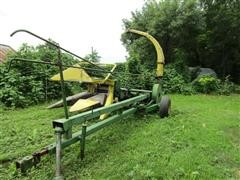 "John Deere 3800 Pull Type Chopper W/2R38"" Head"