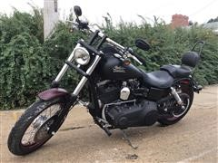 2013 Harley Davidson FXDB Dyna Street Bob Motorcycle