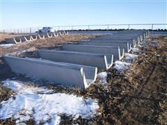 Oberist Concrete Feed Bunks
