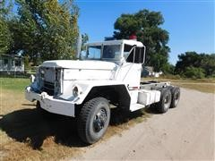 1970 A M General M35A2 6x6 Military Cab & Chassis