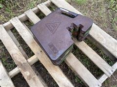 Allis-Chalmers Suitcase Weights