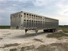 2015 Eby 44' T/A Livestock Trailer