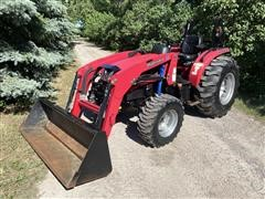 Mahindra 4035 HST MFWD Compact Tractor & Loader