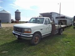 1997 Ford F-450 Super Duty Flatbed Pickup