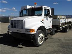 1991 International 4900 4x2 Dump Truck