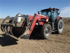 2013 Case IH Maxxum 140 MFWD Tractor With Loader