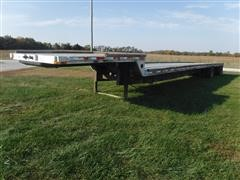 2001 Transcraft 53' Spread Axle Drop Deck Trailer