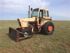 1970 Case 1070 2WD Tractor W/Waldron 9' Blade