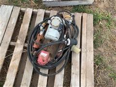 Fertilizer Double Piston Pump