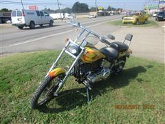 2000 Harley Davidson Softail Motorcycle