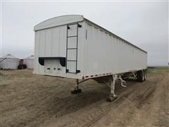 2010 Construction Trailer Specailist (CTSI) Hopper Bottom T/A Grain Trailer